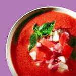 gaspacho aux tomates fraîches