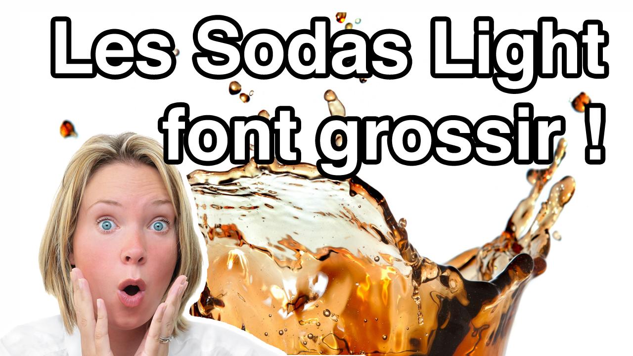 Les Sodas Light font Grossir !