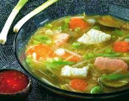 Curry de poisson et legumes