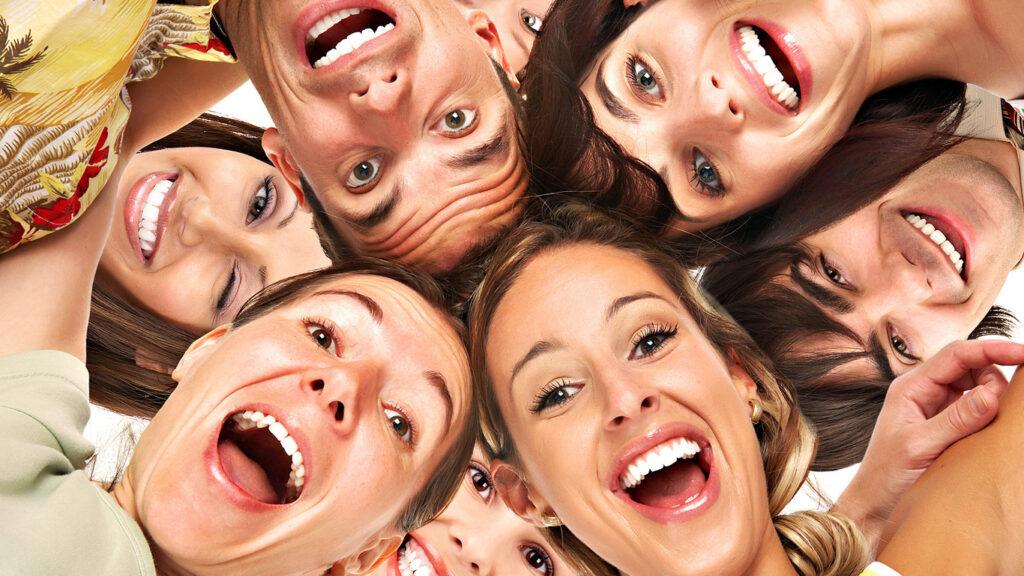 Souriez à la vie, et la vie vous sourira en retour...