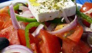 Salade régime crétois