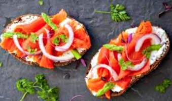 Sandwich a la scandinave